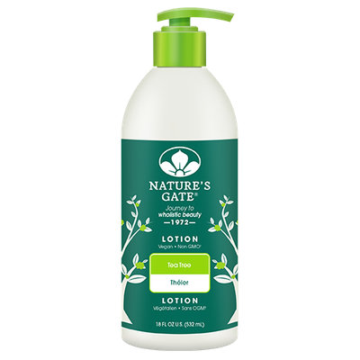 NATURE'S GATE® Tea Tree Moisturizing Lotion