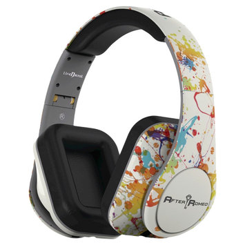 Life N Soul - Bluetooth Designer Over-the-ear Headphones - White