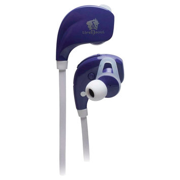Lifensoul Life N Soul Bluetooth Sport Earphones - Purple VV2108