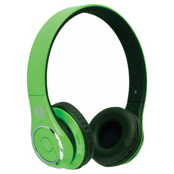 Life N Soul - Bluetooth Over-the-ear Headphones - Green