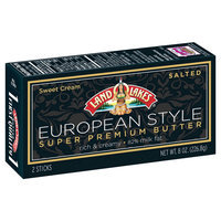 Land O'lakes, Inc. Lol European Butter 8OZ Salted Sticks