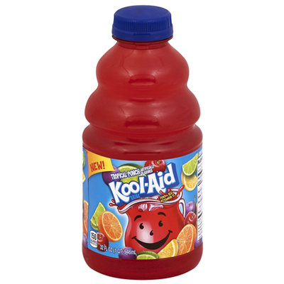 Kool-Aid Tropical Punch Drink Bottle