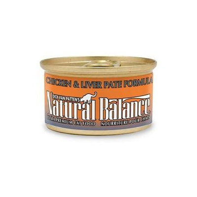tural Balance Cat Supplies Chicken/Lvr Pate Cat Can24/3Oz