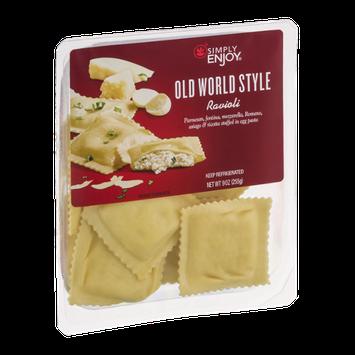 Simply Enjoy Old World Style Ravioli