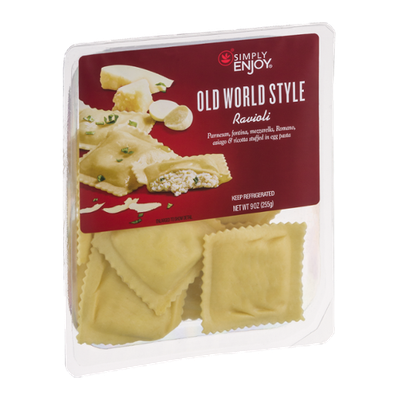 Simply Enjoy Old World Style Ravioli