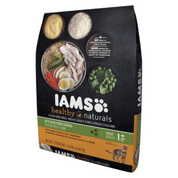 Procter & Gamble Iams Healthy Naturals Adult with Wholesome Chicken Premium Dry Cat