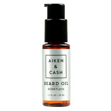 Aiken & Cash Beard Oil - Scentless