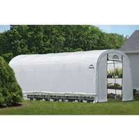 Shelterlogic ShelterLogic GrowIt 24 ft. x 12 ft. x 8 ft. Heavy Duty Walk-Thru Greenhouse