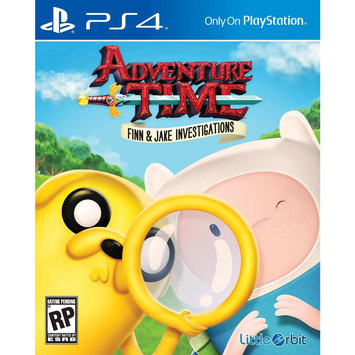 Little Orbit Adventure Time: Finn And Jake Investigations - Playstation 4