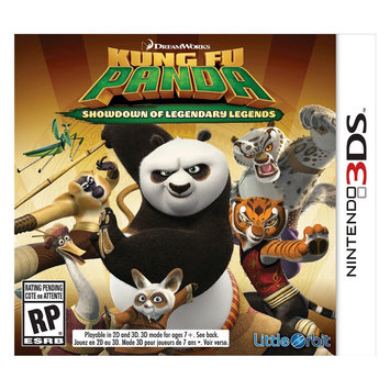 Little Orbit Kung Fu Panda: Showdown Of Legendary Legends - Nintendo 3ds
