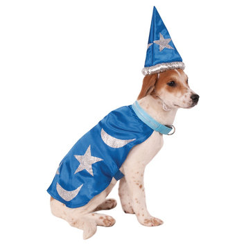 Rubies Wizard Pet Costume - Blue (S)