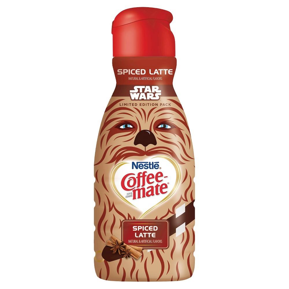 Nestlé' Usa Coffeemate coffee creamer Star Wars Chewbacca spiced latte 32-fl. oz.