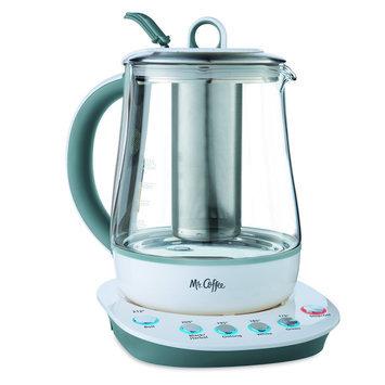 Jarden Mr. Coffee Tea Maker and Kettle - White, Bvmc-HTK100