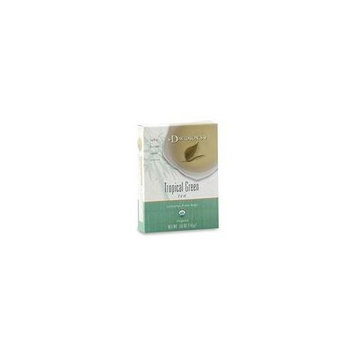 Davidson's Davidson Organic Tea 2226 Tropical Green Tea, Box of 8