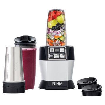 Sharkninja Sales Company Ninja - Nutri Ninja Auto-iq Pro Complete 4-speed Blender - Black