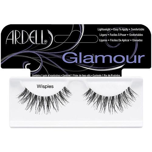 Ardell Glamour Eyelashes, Wispies, 1 pr