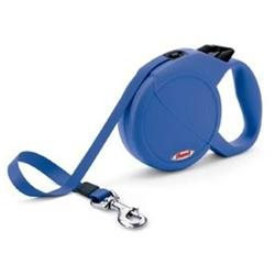 Flexi Durabelt Retractable Dog Leash in Blue, Large