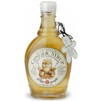 The Ginger People Ginger People Ginger Syrup 8 oz (Pack Of 12)