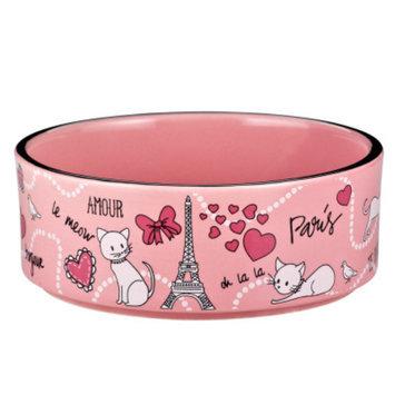 Whisker CityA Paris Cat Bowl