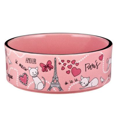 Whisker CityA Paris Cat Bowl