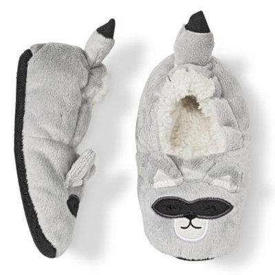 Circo Toddler Raccoon Slipper Socks - Grey 2T/3T