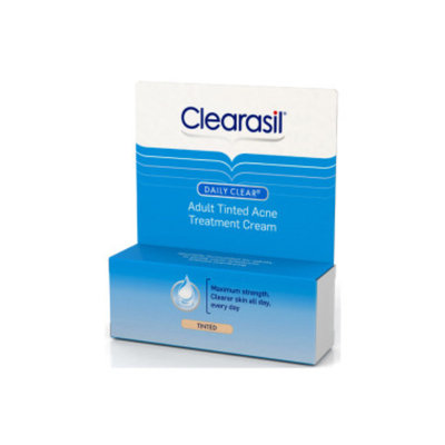 Clearasil Daily Clear Adult Tinted Acne Treatment Cream .65 oz