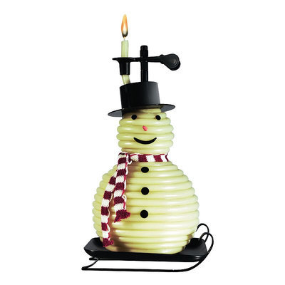 Candle By The Hour 20657B 100-Hour Snowman Candle