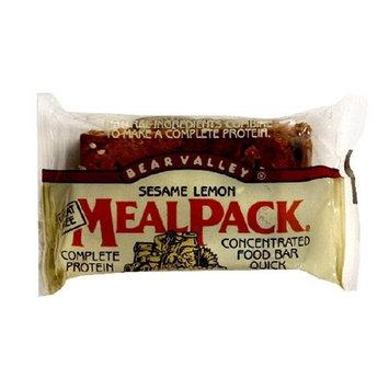 Bear Valley Mealpack Bars, Sesame Lemon, 3.75-Ounce Bars (Pack of 12)