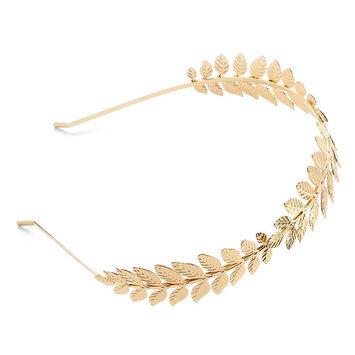 Candies Candie's Metal Leaf Headband (Yellow)