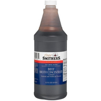 Smithers Beef Broth Concentrate, 32-Ounce Bottle (Pack of 2)