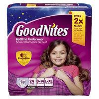 Huggies GoodNites HUGGIES GoodNites Underwear for Girls Big Pack - Size Lrg/XL (24