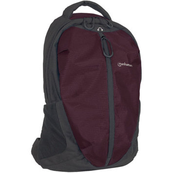 Manhattan 439701Mh Airpack Laptop Bag Blk Plum