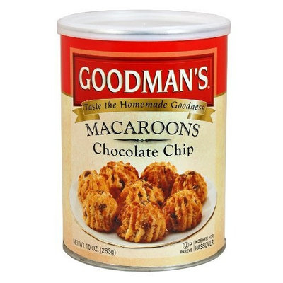 Goodmans Goodman's Chocolate Chip, 10 Ounce Tins (Pack of 4)