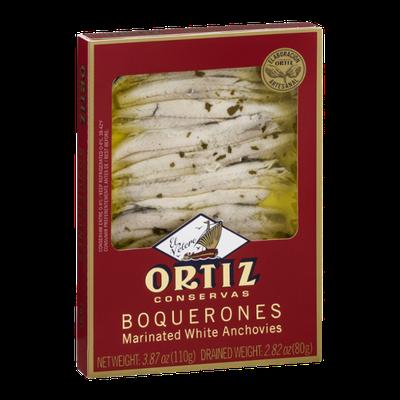 Ortiz Marinated White Anchovies