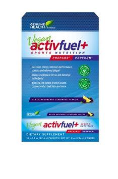 Plant Based Activfuel + Black Raspberry Lemonade Genuine Health 10 x 22.4g Packe