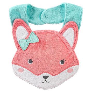 Carter's Fox Bib - Baby Girl (Pink)