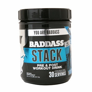 Baddass STACK Pre & Post Workout Drink
