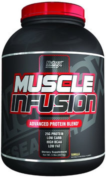 Nutrex Research Muscle Infusion Blend, Vanilla, 5 Pound