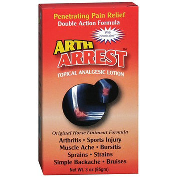 Arth Arrest Topical Analgesic Lotion