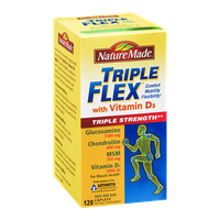 Nature Made Triple Flex with Vitamin D3 Dietary Supplement Caplets - 120 CT