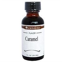 Lorann Oils LorAnn Artificial Flavoring Oils, Caramel Flavoring Oil, 1 oz Bottles, 4 pk