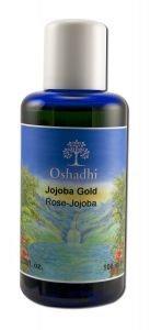 Oshadhi - Skin Care Oils, Jojoba Rose Gold FAcial Oil 100 ml