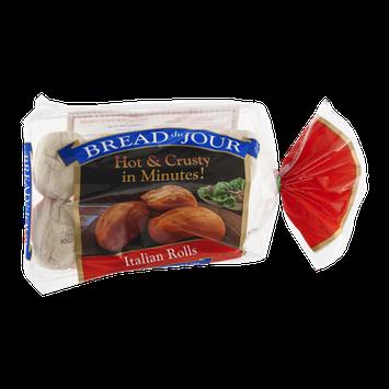 Bread du Jour Italian Rolls - 10 CT