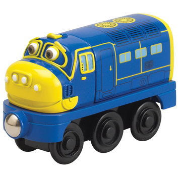 Learning Curve International, Inc. Chuggington Wooden Railway Brewster Engine by Learning Curve