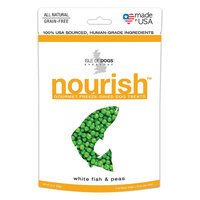 Isle of Dogs 2-Ounce Nourish Freeze-Dried Dog Treats - White Fish & Peas (Natural)