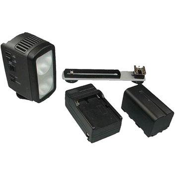 Lumiere L.A. DUAL 3200K Portable Halogen Video Light Kit