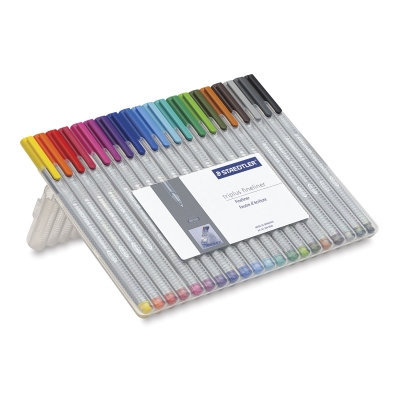 Staedtler Triplus Fineliner Pens, Assorted, Set of 20