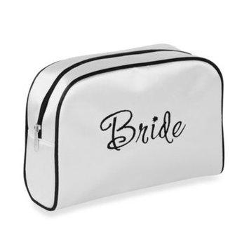 Lillian Rose Bride Medium Travel Bag in White