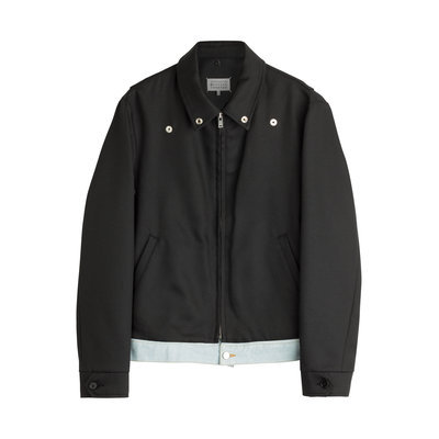 Maison Margiela Wool-Blend Jacket - black