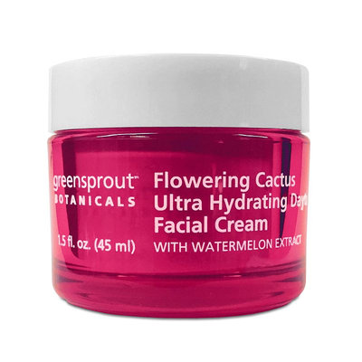GreenSprout Botanicals Flowering Cactus Ultra Hydrating Day Facial Cream